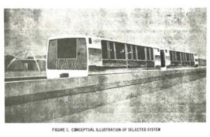 City of Los Angeles Department of Airports 1968 Proposal for Intra-Airport Circulator System.