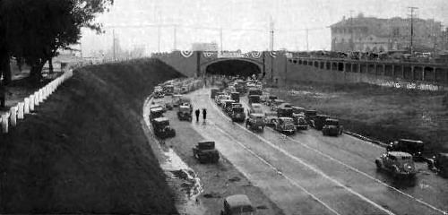 McClure tunnel opening