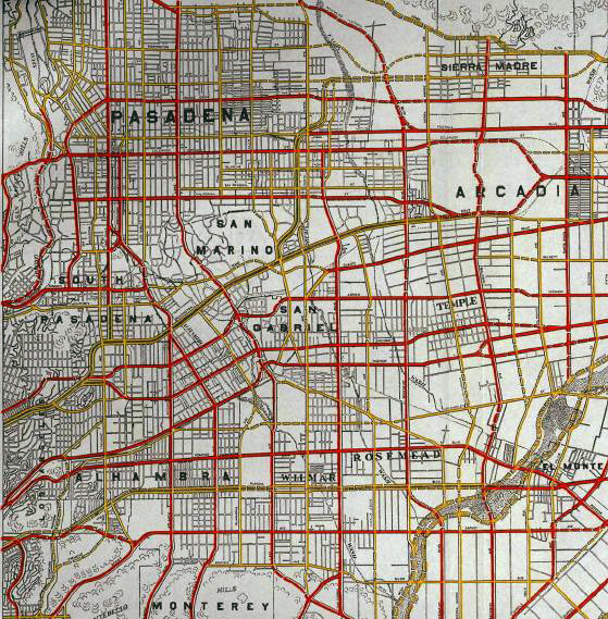 San Gabriel Valley Highway Plan