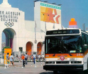 SCRTD Bus, 1984 Olympics Los Angeles