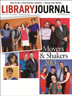 Movers &amp; Shakers - Library Journal Cover