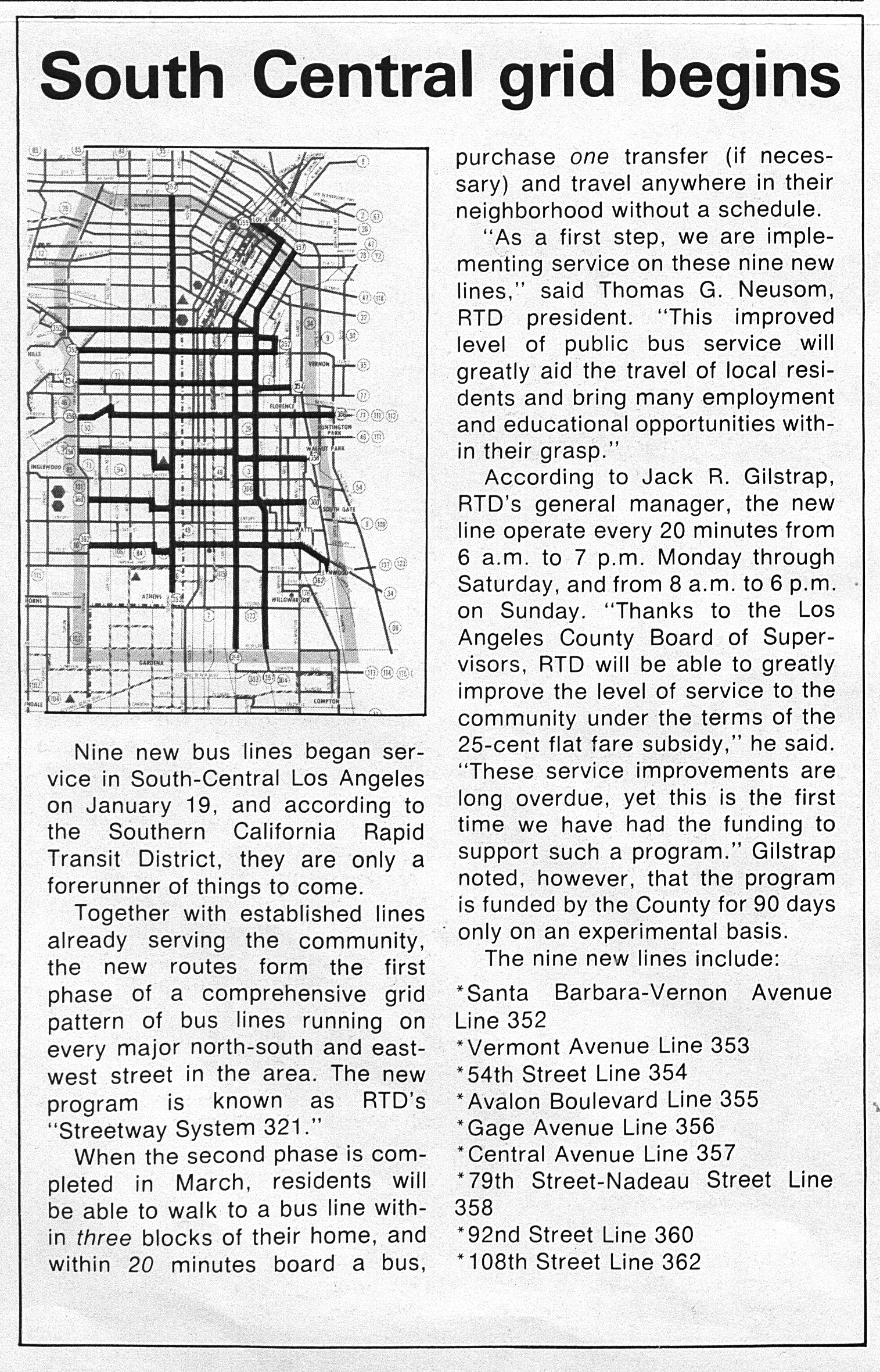 January 19: This Date in Los Angeles Transportation History